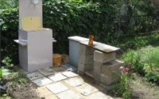 Самодельный умывальник для дачи и сада
