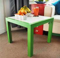 Самодельный светящийся стол