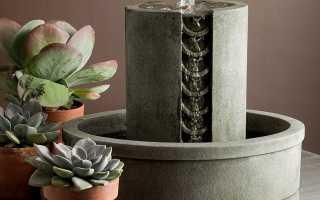 Как сделать комнатный «фонтан — ночник» своими руками