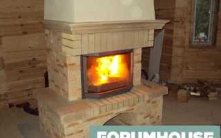 Печка своими руками и самодельный камин, отопление для дома