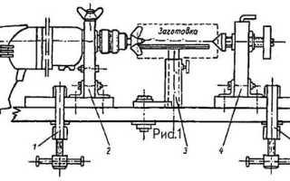 Миниатюрный токарный станок из дрели