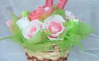 Декоративное мыло «Каллы» своими руками