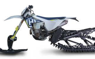 Скибайк или Сноубайк — снежный велосипед своими руками
