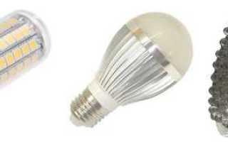 О ремонте светодиодных ламп