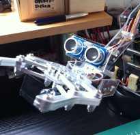 Самодельный робот на Arduino, следующий за рукой