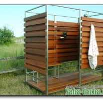 Летняя прохлада – душ для дачи своими руками