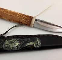 Нож Якут из подшипника своими руками
